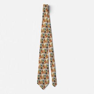 Der Vintage Vatertag, glücklicher Vati und Personalisierte Krawatten