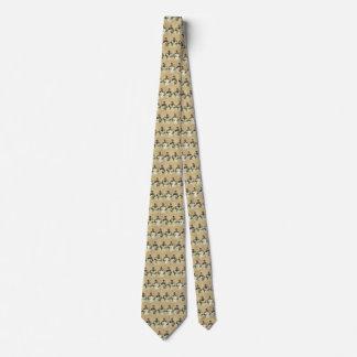 Der Vintage Vatertag, Mann, der Dreiergruppe-Babys Personalisierte Krawatte