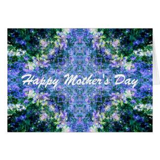 Der violette Tag der Überlastungs-Mutter Karte