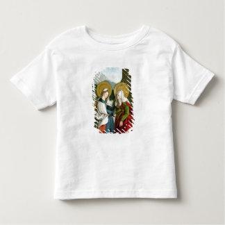 Der Visitation (Öl auf Platte) Kleinkinder T-shirt