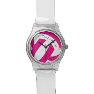 der Volleyball der Frauen irgendeine Farbe Uhr