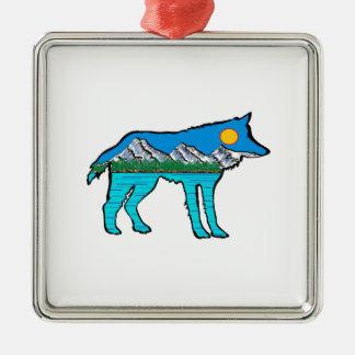 DER WALDgeist Silbernes Ornament