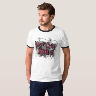 Der Wecker T der magischen Stadt-Kätzchen-Männer T-Shirt