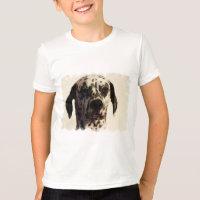 Der Wecker-T - Shirt des Dalmation Hundekindes