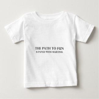 Der Weg zum Spaß Baby T-shirt