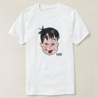 Der weiße T - Shirt der DreamySupply Zunge-heraus