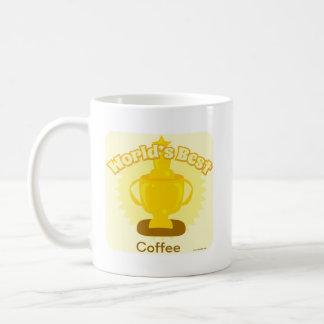 Der Weltgut kundengerechte 2 mit Seiten versehene Kaffeetasse