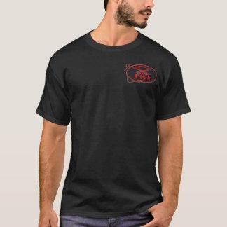 Der Wildwood der Männer Gasthaus-Logo-T-Shirt T-Shirt