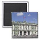 Der Winter-Palast, St Petersburg, Russland (RF) Quadratischer Magnet