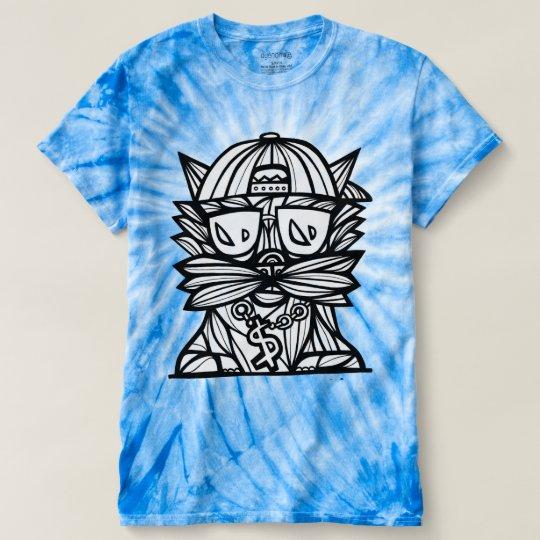 """Der Wirbelsturm-gefärbte Krawatte """"der T-shirt"""