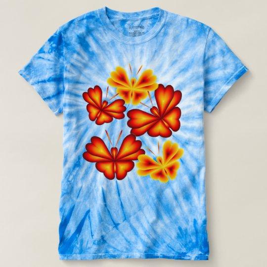 Der Wirbelsturm-Krawatten-T - Shirt 16140122 der