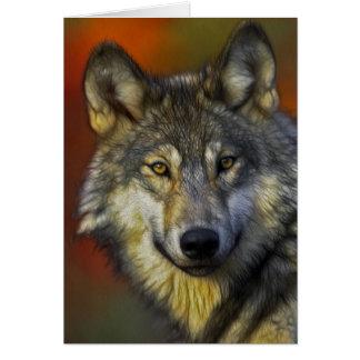 Der Wolf Karte