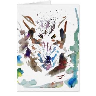 '' Der Wolf '' Karte