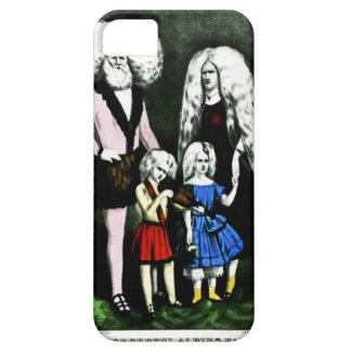 Der wunderbare Albino-Familien-Case-Mate-Fall iPhone 5 Hülle
