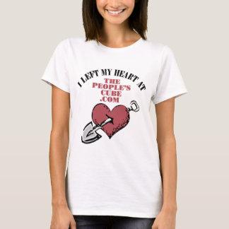 Der Würfel der Leute - I verließ mein Herz bei T-Shirt