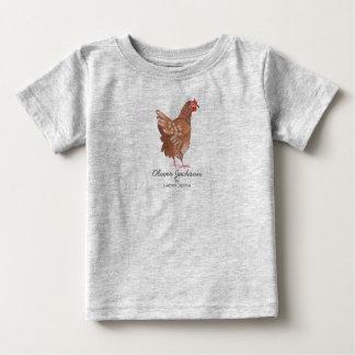 Des Bauers-Markt-Hahn-| T - Shirt Baby-des