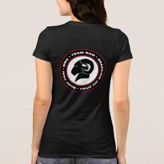 Des Bella der Damen+Leinwand schwarzer RAM T - T-Shirt