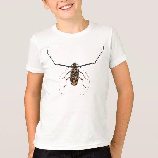 Des Harlekin-Käfers der Kinder farbenreiches Shirt