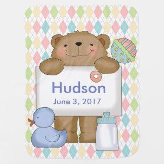 Des Hudsons gute Nachrichten tragen Kinderwagendecke