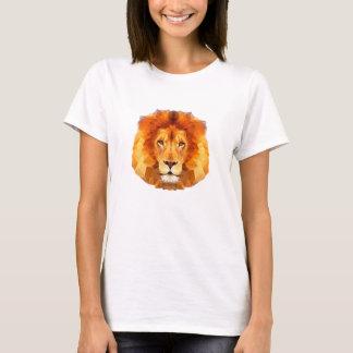 Des Löwes der grundlegende T - Shirt Polyfrauen