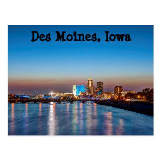 Des Moines Postkarte
