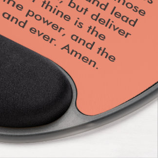 """Des prayer Lords"" motivierend Mausunterlage Gel Mousepad"