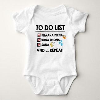 Desi Baby Zu-listen auf! (Essen Sie, schreien Sie, Baby Strampler