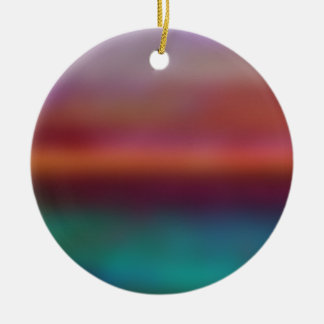 Design Farbnebel No.3 Keramik Ornament
