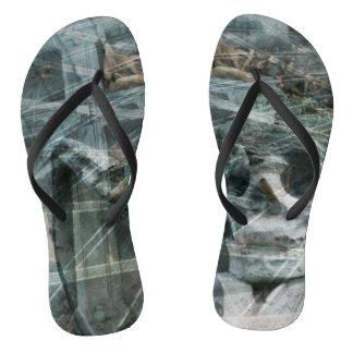 Design Gothic Flip Flops