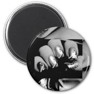 Designer-Fingernägel Kühlschrankmagnete