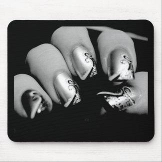 Designer-Fingernägel Mousepads