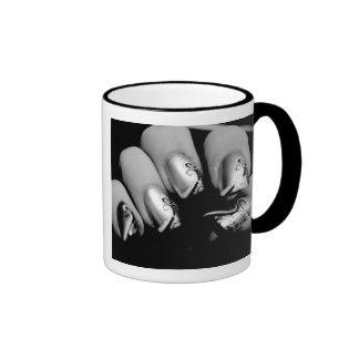 Designer-Fingernägel Ringer Tasse