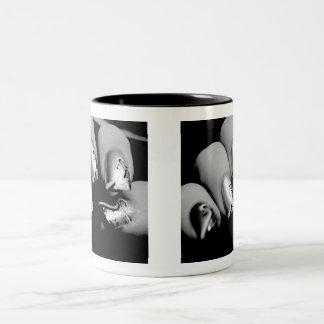 Designer-Fingernägel Zweifarbige Tasse