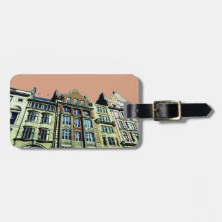 Designer-Gepäckanhänger London Kofferanhänger