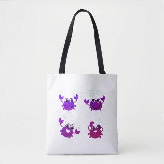 Designer-Taschentasche mit exotischer Krabbe Tasche