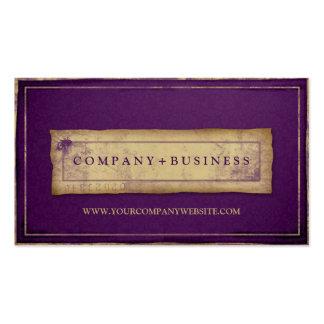 DesignerVintager Grunge-berufliche Geschäfts-Karte Visitenkartenvorlage