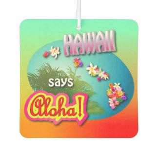 Désodorisant Pour Voiture Hawaïen