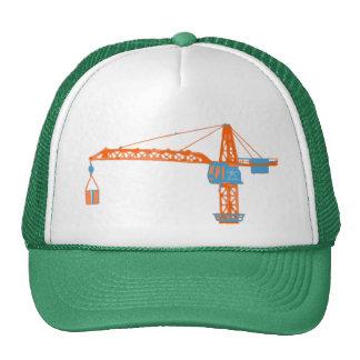 Dessin de grue du jouet des enfants casquette de camionneur