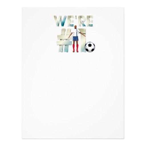 DESSUS nous sommes le football #1 Prospectus Customisé