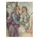 Détail de Vénus et des grâces Cartes Postales