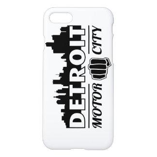 Detroit-Bewegungsstadt-Skyline iPhone Fall iPhone 8/7 Hülle