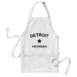 Detroit Michigan Schürze
