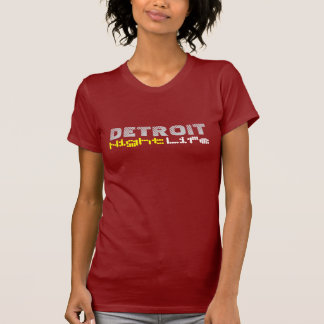 Detroit-Nachtleben T-Shirt