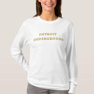 Detroit-Untergrund-Spitze T-Shirt