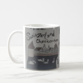 Deutsch/christlich Tasseliechtenstein/die Schweiz Kaffeetasse