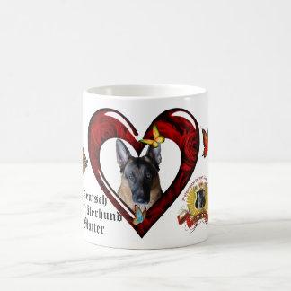 Deutsch Schäferhund Mutter Tasse