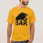 Deutsche Bärentatze-Rückseite des Bärn-(Bär) T-Shirt