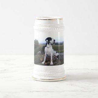 Deutsche Dogge, Great Dane,Hunde,Dogue Allemand Bierkrug