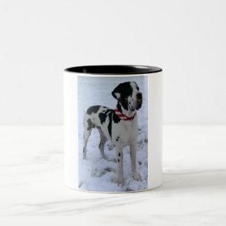 Deutsche Dogge, Great Dane,Hunde,Weihnachten Teehaferl