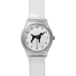 Deutsche Draht-Haarige Uhr